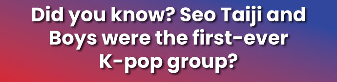 Did you know fact about K-pop group